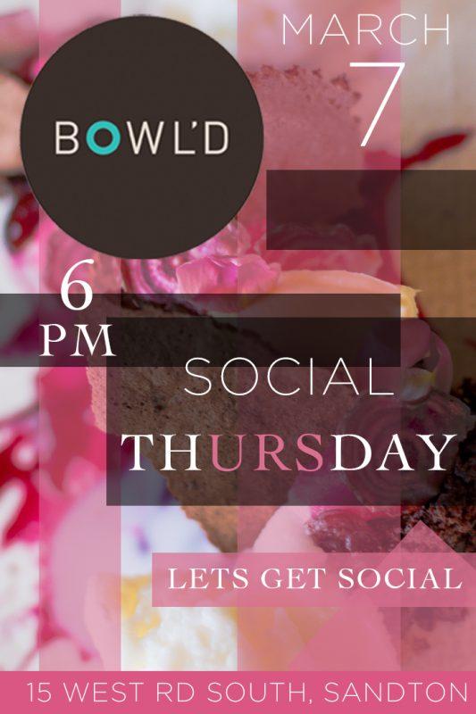 Bowld Social Thursday 7 March