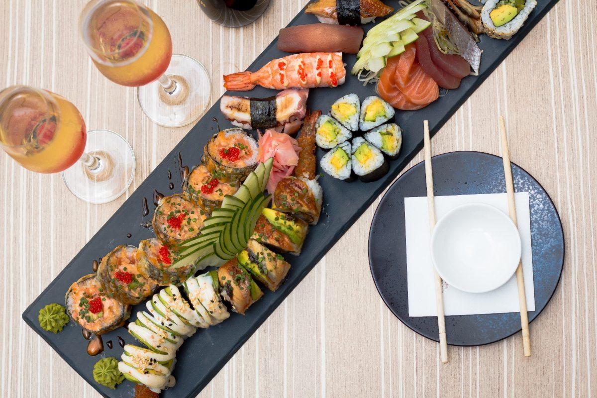 Sushi-mix platter