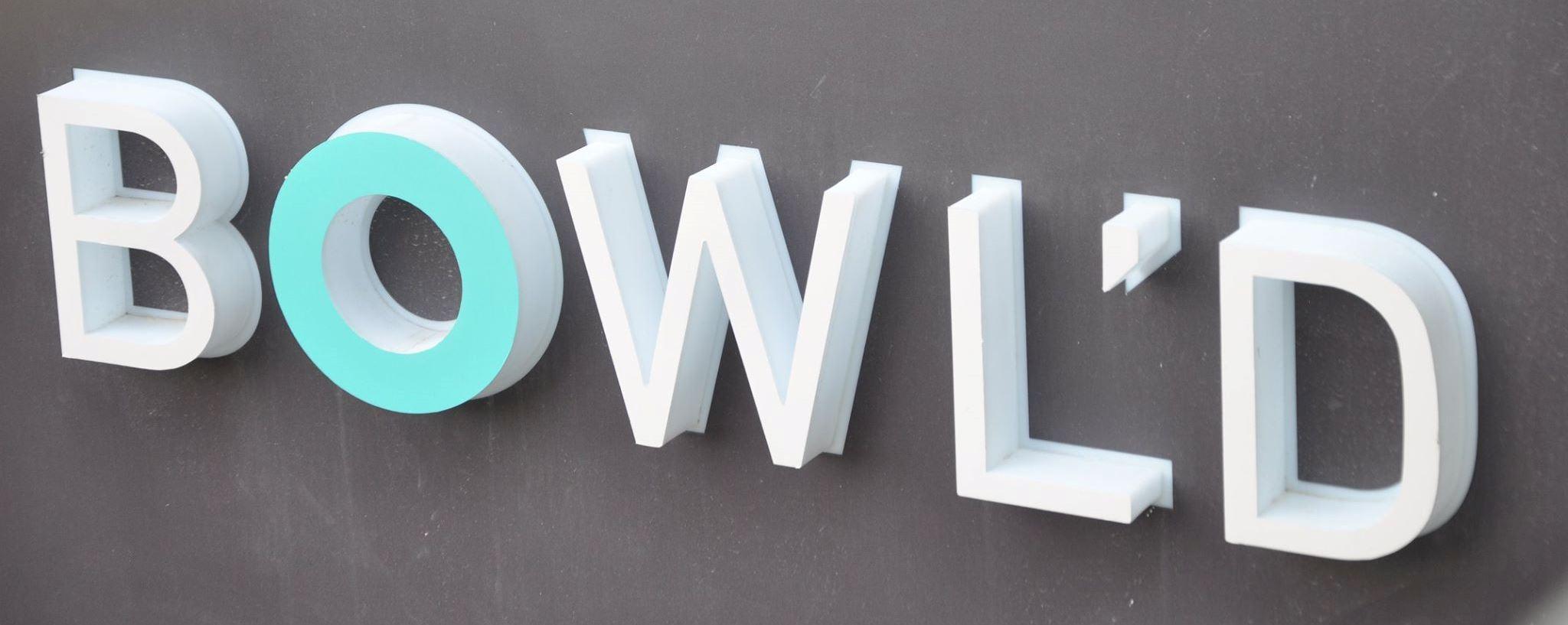 BOWL'D Sign